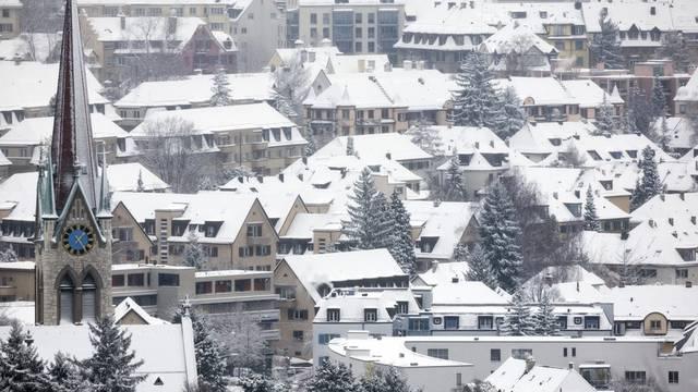 Schweizer Städte, hier im Bild Zürich, fordern mehr Geld (Symbolbild)
