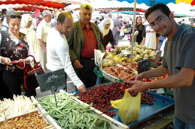 Markt in Mulhouse