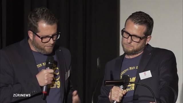 Roland Portmann wird vom Medienchef zum Comedian