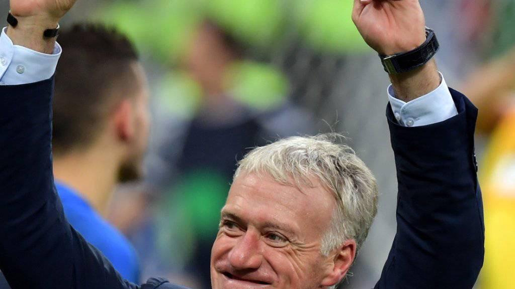Didier Deschamps ist der Baumeister des französischen WM-Erfolgs
