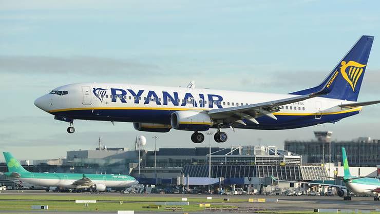 Ryanair macht 39 Prozent weniger Gewinn. (Archivbild)