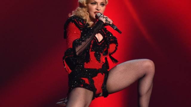 Für Madonna gibt es gutes Netz und ein böses Netz (Archiv)