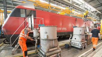 SBB modernisiert Lokomotive des Typs Re 460