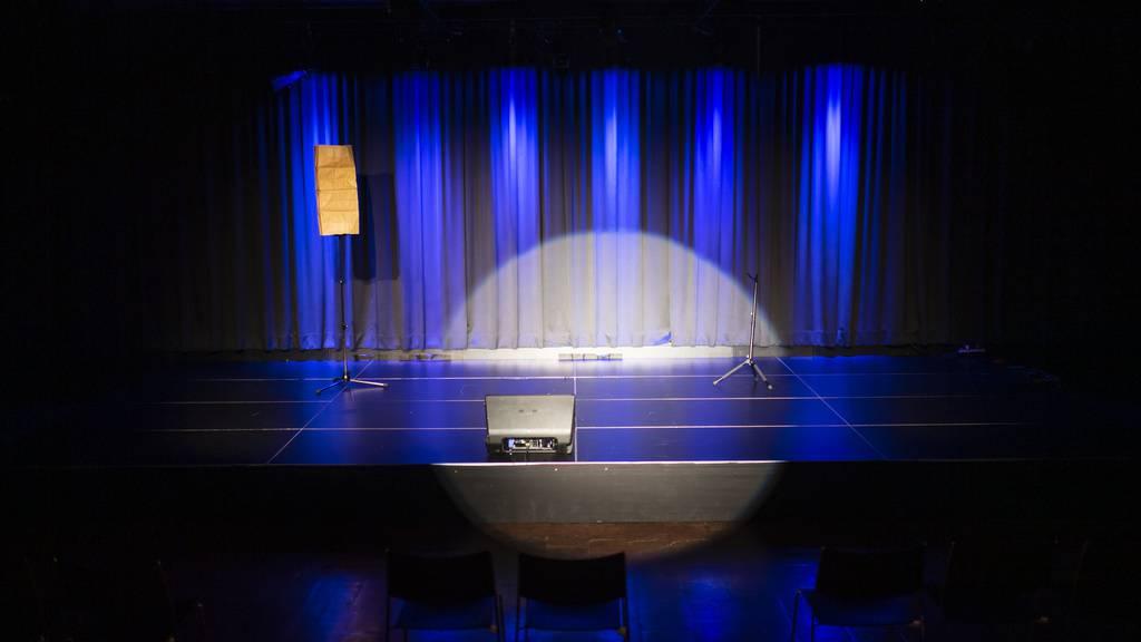 Die Bühnen in der Schweiz bleiben leer.