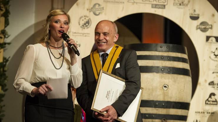 Susanne Kunz und Ueli Maure