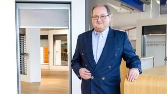 Werner Held, CEO der Schenker Storen AG, im Showroom in Schönenwerd.Sandra Ardizzone