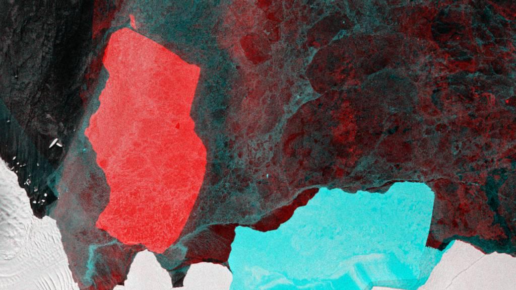 Abgebrochener Eisberg in Antarktis nimmt Fahrt auf