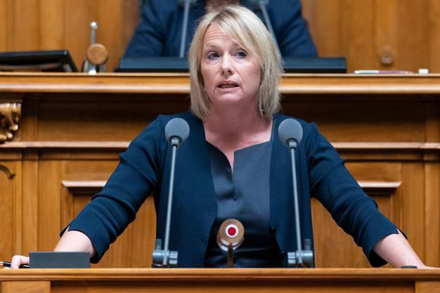 Nationalrätin Elisabeth Schneider-Schneiter (CVP/BL)
