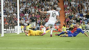 James Rodriguez trifft zum zwischenzeitlichen 4:0 gegen den FCB