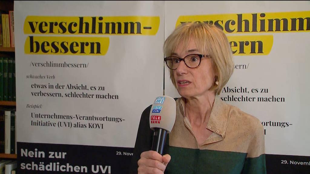 Ruth Humbel: «Die KVI wird sicher am Ständemehr scheitern»