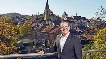 «Wenn wir gute Ideen für die Stadt Baden haben, kann ich nicht ruhig auf dem Stuhl sitzen, dann will ich das umsetzen», sagt Philippe Ramseier über sich selbst.