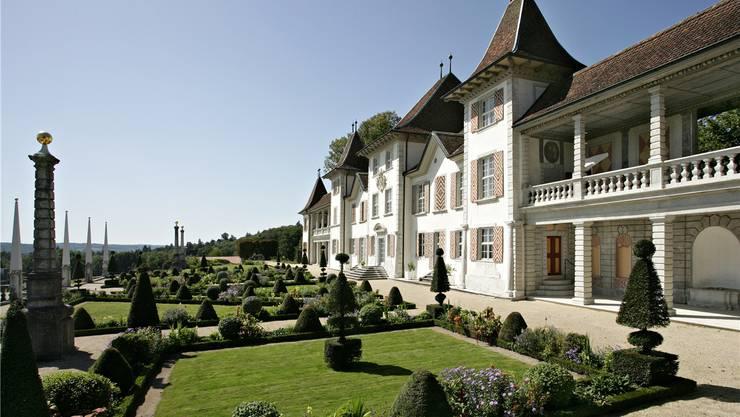 Der Barockgarten des Schlosses Waldegg gehört zu den schönsten der Schweiz