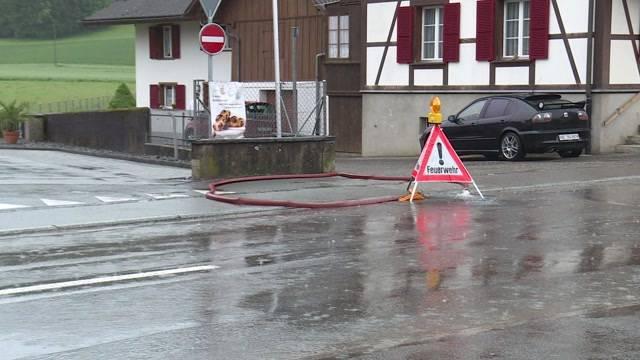 Unwetter wütet über Bern