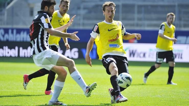 Der FC Aarau schlägt auswärts Wil mit 3:0