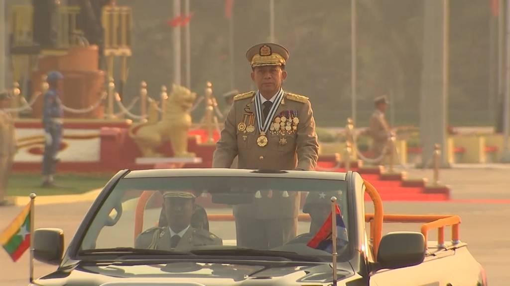 Putsch in Myanmar: Militär übernimmt die Macht