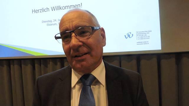 Das sagt Projektleiter Peter Weber nach dem Anlass am Dienstagabend über den Stand des Fusionsprojekts.