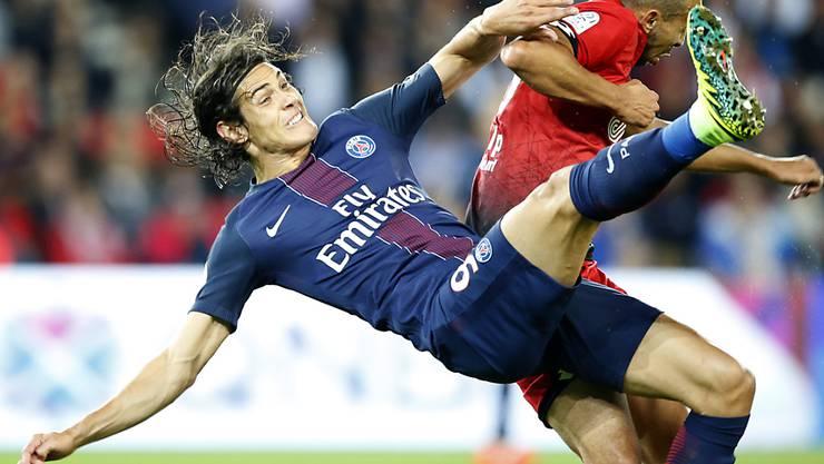 Der Uruguayer Edinson Cavani präsentierte sich auch beim Sieg gegen Dijon in Torlaune