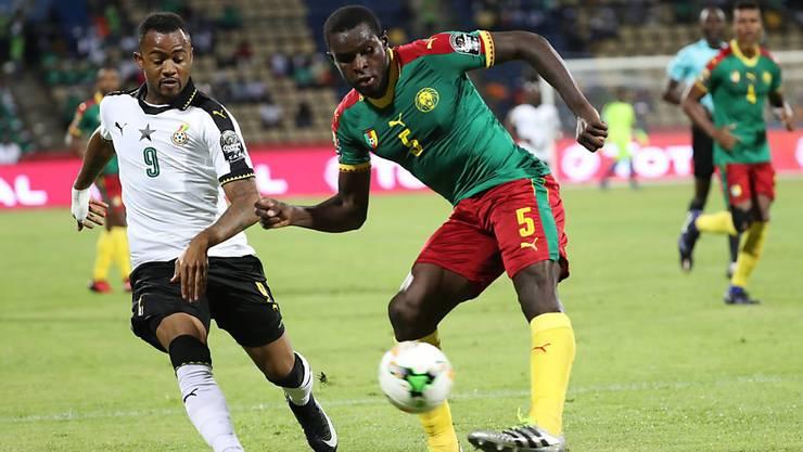 Schoss Kamerun gegen Ghana in den Final des Afrika-Cups: Michael Ngadeu-Ngadjui