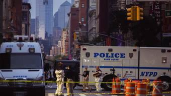 Mutmasslicher Anschlag in New York fordert 29 Verletzte