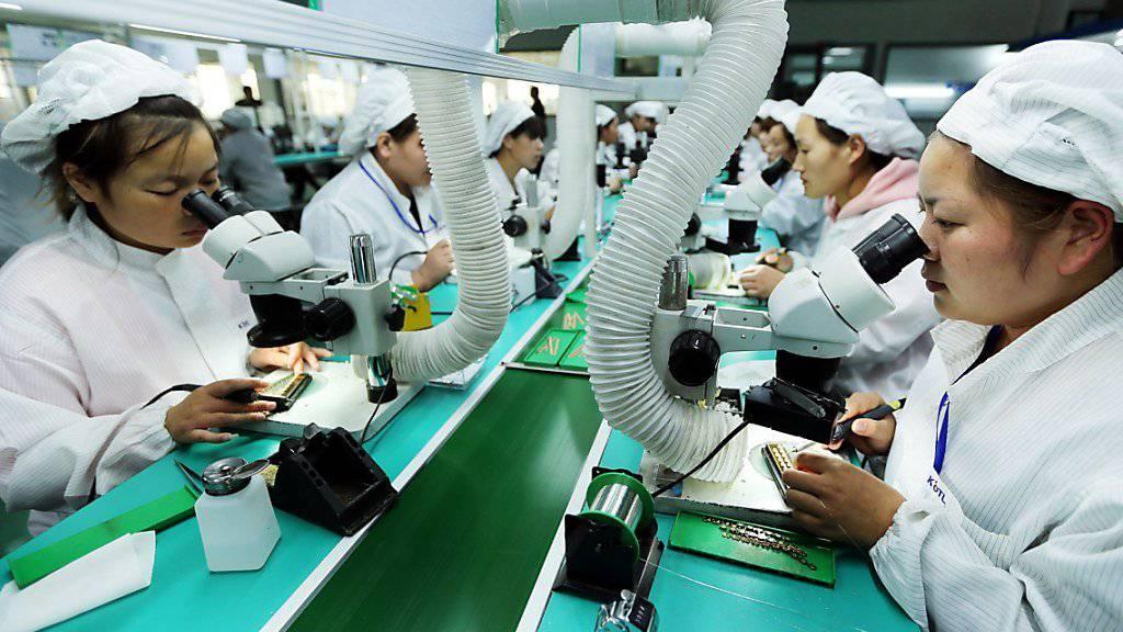 Boom beim Aussenhandel: China hat zum Jahresbeginn überraschend viele Waren und Dienstleistungen importiert. (Archivbild)