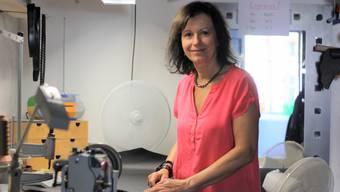 Irene A. Schneider betreibt in Weiningen das Geschäft «Wild Arts», in dem sie Stoff- und Lederarbeiten ausführt.