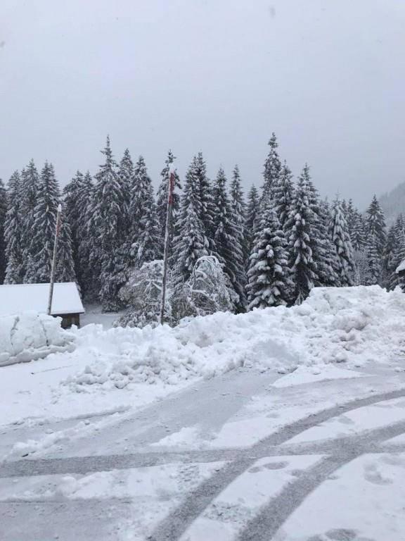 In Glaubenberg Obwalden liegt mehr als nur ein «bitzeli» Schnee