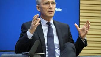 ARCHIV - Nato-Generalsekretär Jens Stoltenberg sorgt sich wegen der Spannungen zwischen Griechenland und der Türkei. Foto: ---/NATO/dpa - ACHTUNG: Nur zur redaktionellen Verwendung und nur mit vollständiger Nennung des vorstehenden Credits
