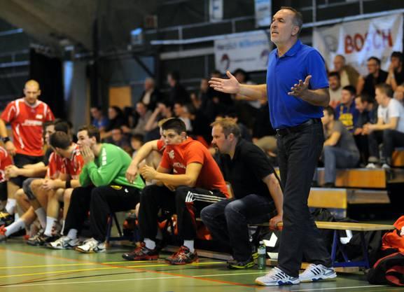 Trainer Zlatko Portner fand wenig zu kritisieren