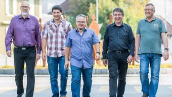Roland Frei, Michael Müller, Mario Schegner (Ammann), Andreas von Gunten, Steven Schneider