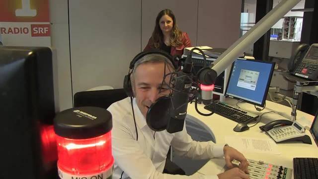 Renaud Tour mit Dani Fohrler, SRF-Radio- und Fernsehmoderator