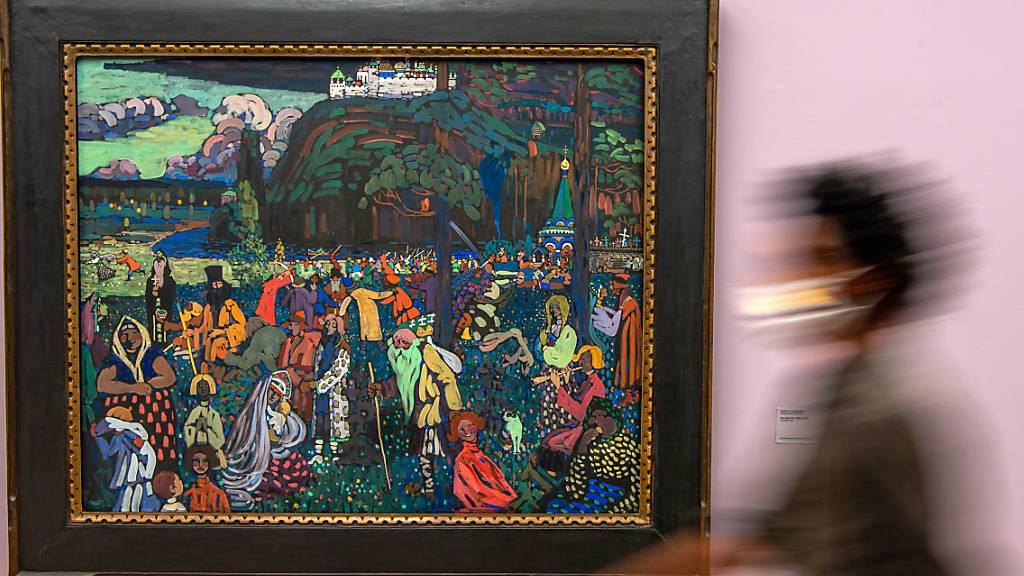 NS-Raubkunst: Erben fordern Rückgabe von Kandinsky-Gemälde