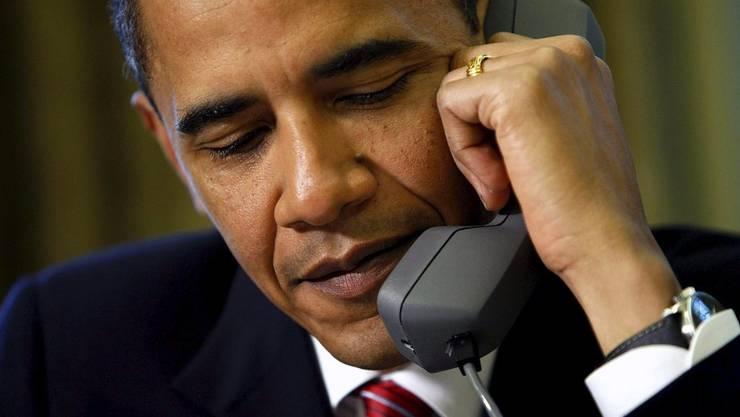 Erste Anzeichen von Tauwetter zwischen Washington und Teheran. US-Präsident Barack Obama telefoniert mit Irans Präsident Hassan Rohani.