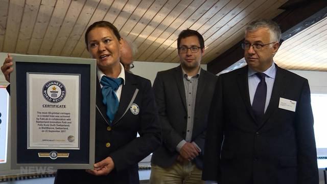 3D-Weltrekord in Nidau