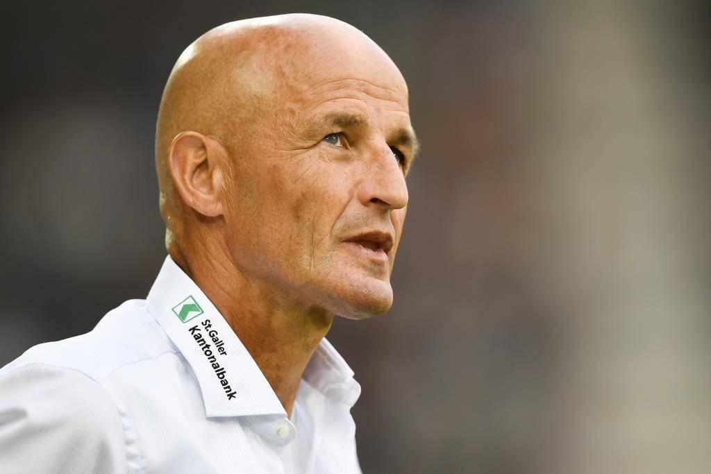 Der Deutsche ist mit den Gedanken bereits beim nächsten Spieltag. Am Mittwoch trifft der FCSG auswärts auf Zürich. (© Keystone/Gian Ehrenzeller)