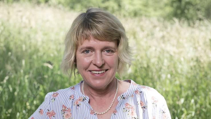 Unterstützt: Christiane Guyer (Grüne), Zofingen, geboren 1963.