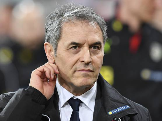 Die Zukunft von FCB-Trainer Marcel Koller ist trotz Cupsieg ungewiss.