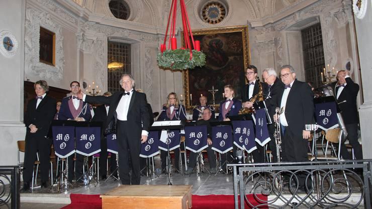 Das Konzert der Musikgesellschaft Oberdorf.