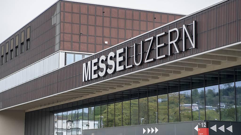 Signal für den Messeplatz Luzern: Der Regierungsrat will Veranstalter finanziell absichern. (Archivbild)