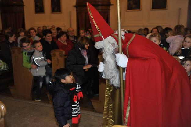 Aussendung der Samichläuse in der Eusebiuskirche Grenchen.