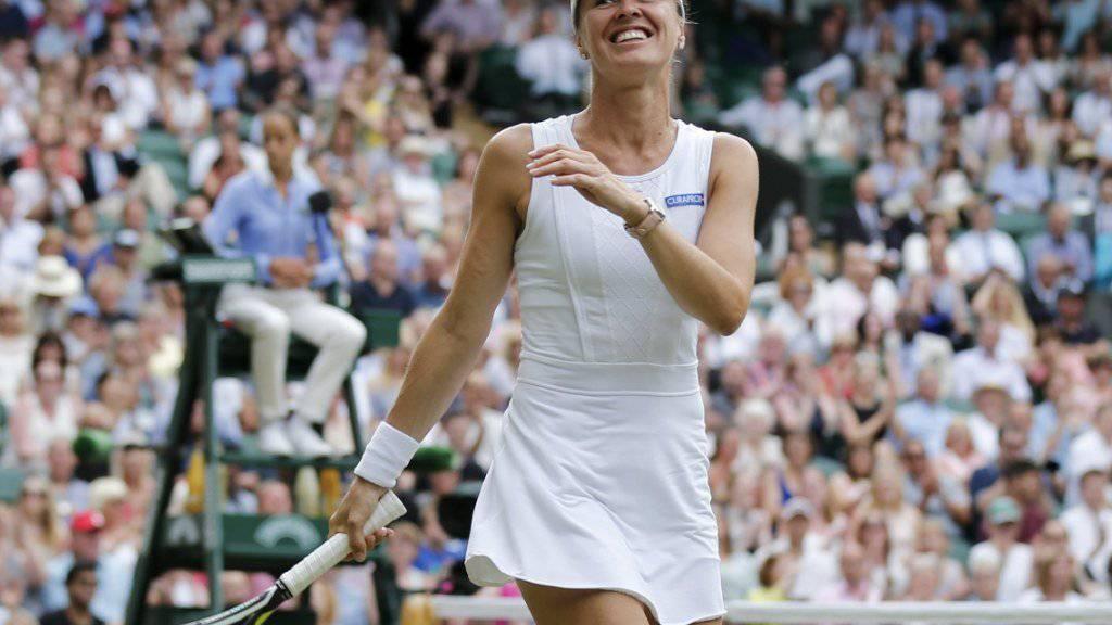 Martina Hingis bleibt in Singapur im Titelrennen.