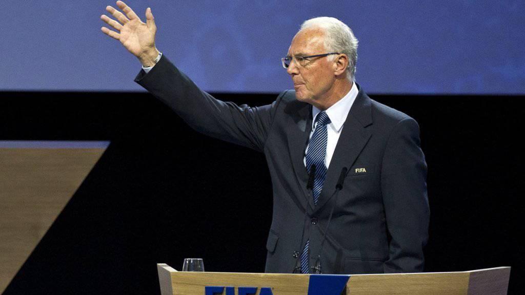 Gegen ihn wird schon seit Monaten ermittelt: Franz Beckenbauer (Archiv)