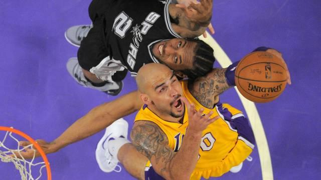 Für einmal geht das Duell an den Lakers-Spieler