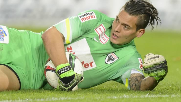 Steven Deana stand bereits eine Saison im Tor des FC Aarau
