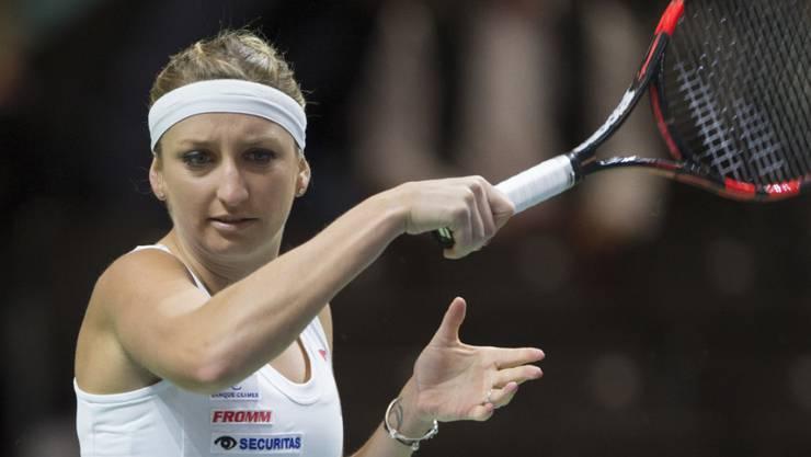Timea Bacsinszky kämpft um ihre Punkte