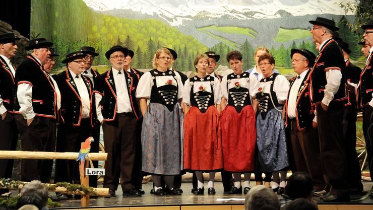 Die Jodlerinnen und Jodler überzeugten durch ein breit gefächertes Repertoire.