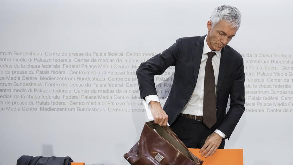 Parteien begrüssen Rücktritt von Bundesanwalt Lauber