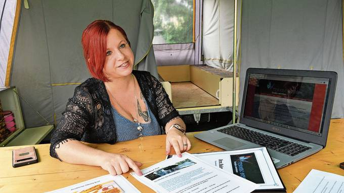 Deborah Winkelmann will als selbstständige Reiseberaterin durchstarten.