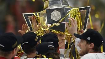 Wird im kommenden Winter nicht vergeben: der Pokal der Champions Hockey League