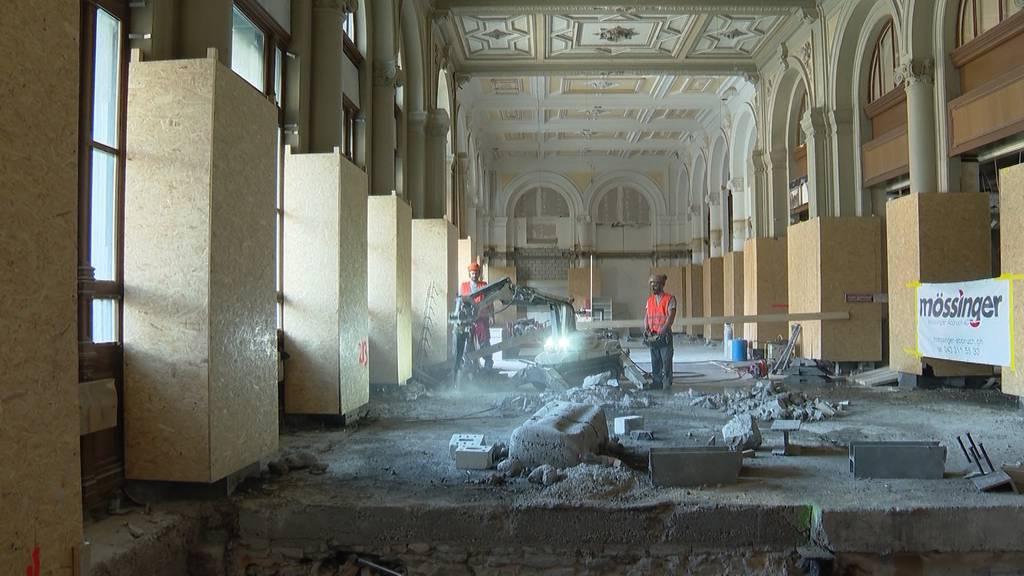 Zürich HB: Langwierige Sanierung der Haupthalle