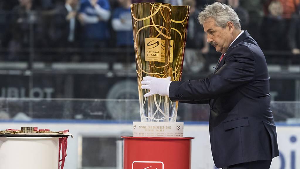 Willi Vögtlin, Leiter Spielbetrieb im EIshockey, klärte mit den Klubs alle offenen Fragen vor den Playoffs